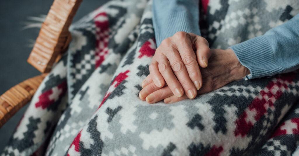 Cuidados com idosos no inverno