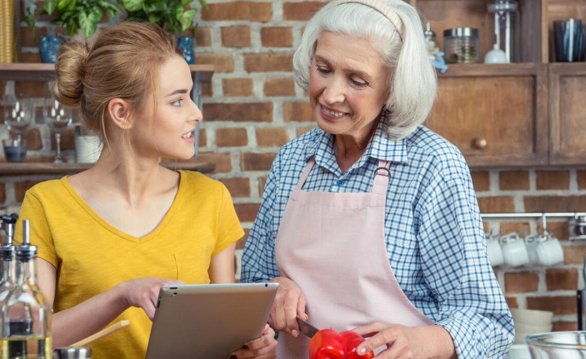 Importância do relacionamento entre avós e netos